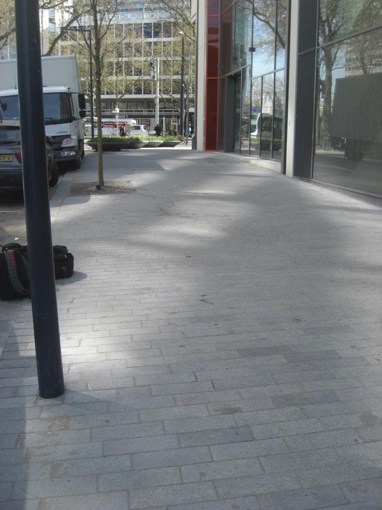 Herstellen natuursteen centrum Rotterdam