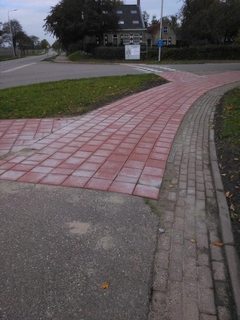 Herstraten fietspaden regio Midden